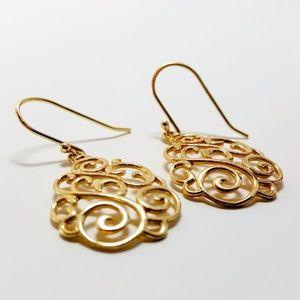 Giani Bernini 18K Gold Filigree Earrings